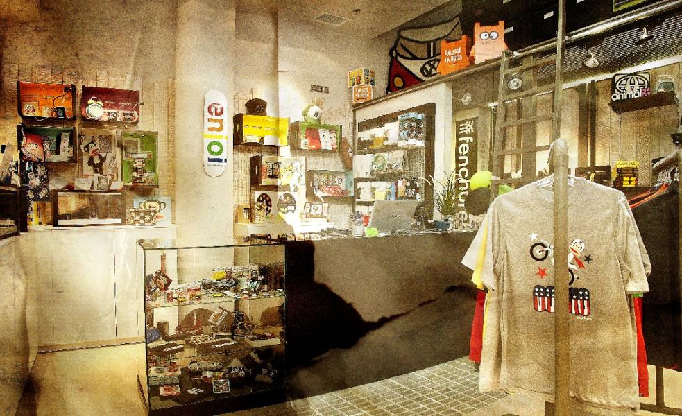 Foto dise o de tienda de ropa urbana de oss dise o for Ropa de diseno online