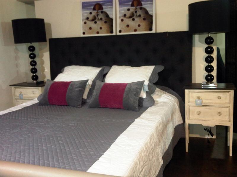 foto dormitorio con cabecero y cuadros meninas de md toiles natur alicante habitissimo