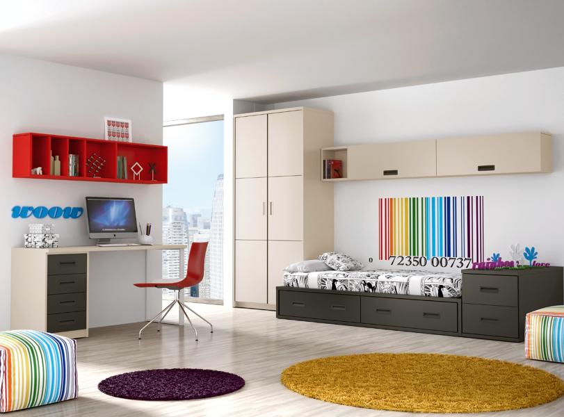 Foto dormitorio juvenil de muebles paco caballero 386552 - Dormitorio juvenil malaga ...