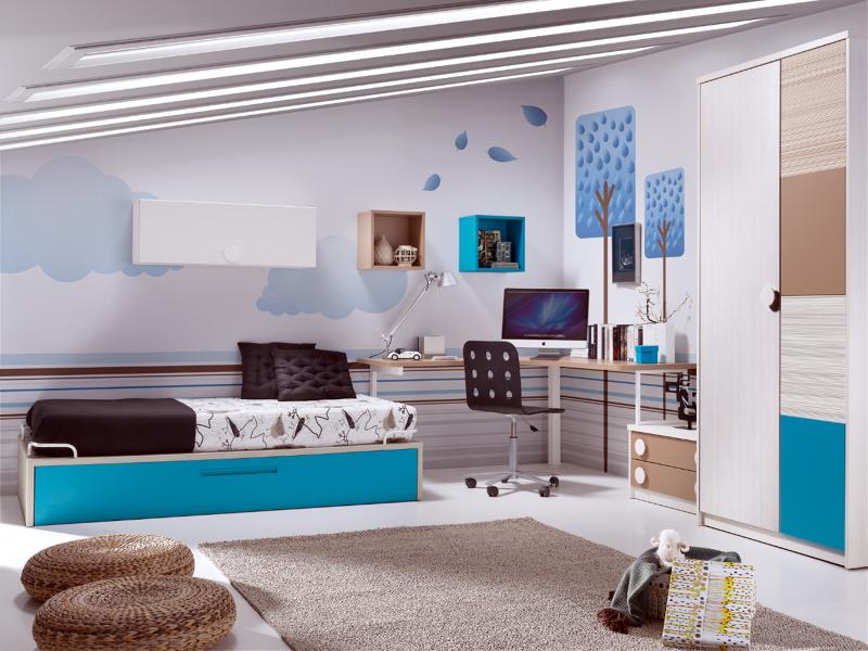 Foto dormitorio juvenil de muebles paco caballero 386560 for Muebles paco caballero