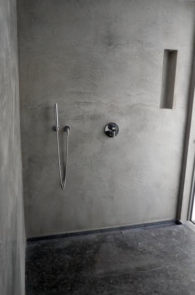 Foto ba o revestido en cemento pulido de proyectos - Banos cemento pulido ...