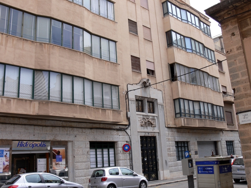 Foto edificio de viviendas calle font i monteros palma - Construcciones bibiloni palma ...