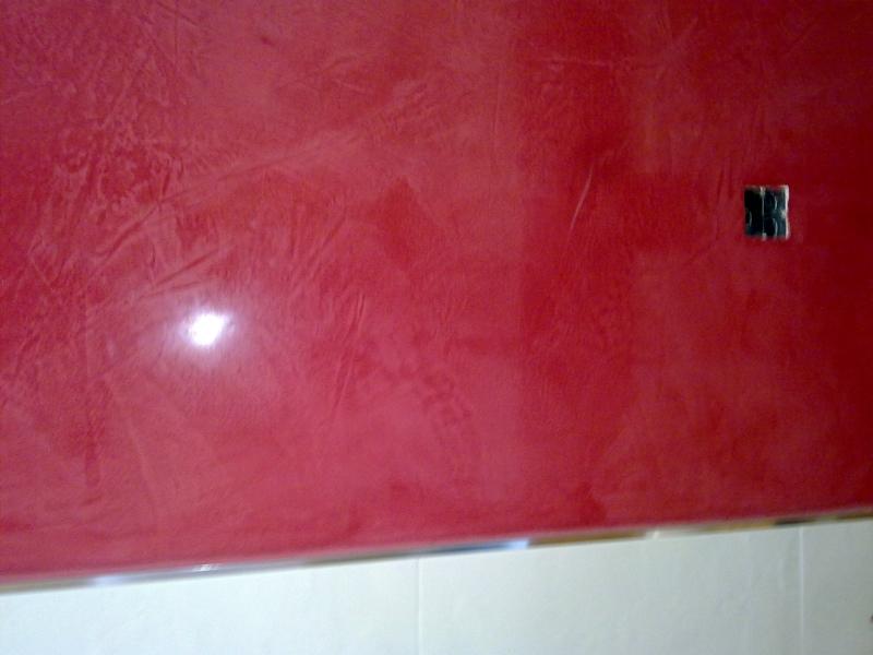 Foto estuco rojo de decoraciones 2010 s l pintura en - Fotos de estuco ...