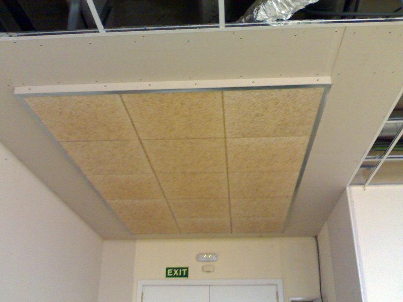 Foto falso techo heraklith de montajes implalusa 297335 - Placas pladur precio ...