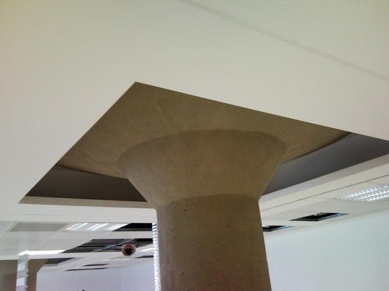 Foto falso techo pladur de falsos techos y pladur for Falso techo rustico