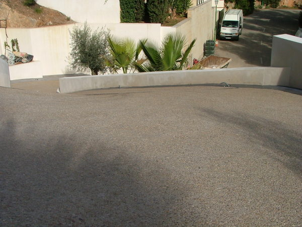 Foto hormigon desactivado de balear de pavimentacion for Hormigon desactivado