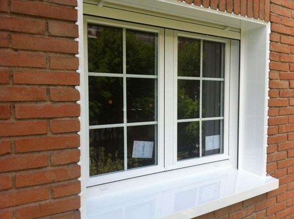 Foto ventana rotura de puente termico y barrotillo de - Ventanas pvc o aluminio puente termico ...