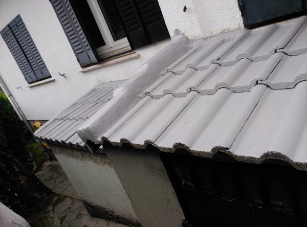 Foto pintado caucho tejados de maderaypintura rotciv - Caucho para tejados ...