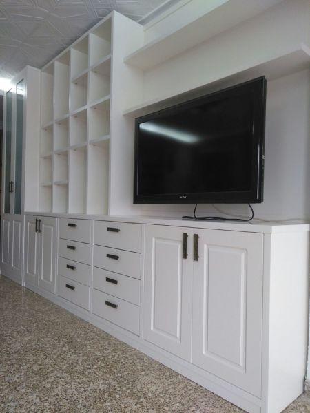 Muebles Lacados Blanco Para Salon.Foto Mueble Salon Lacado Blanco Roto De La Boutique Del