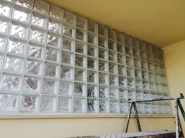 paret de baldosas de pavés(cristal)