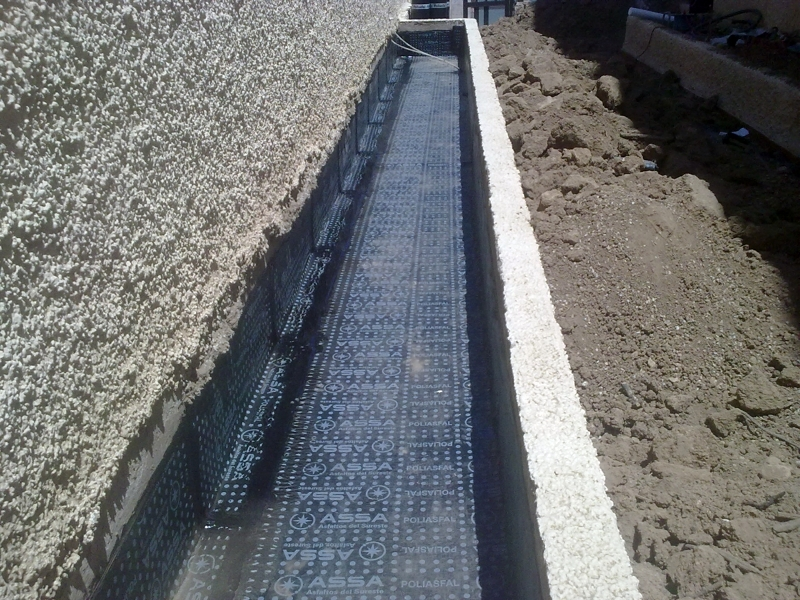 Foto impermeabilizacion de jardineras con tela asfaltica for Precio mano de obra colocacion tela asfaltica