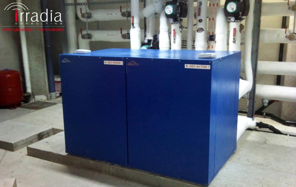 Foto instalaci n de bomba de calor geot rmica de irradia - Bomba de calor geotermica precio ...