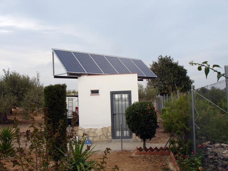 Foto Instalaci 243 N Solar Fotovoltaica Aislada Paneles