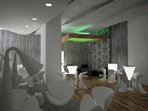 Foto interiorismo para discoteca pub cafeteria de dise o for Disenos para cafeterias