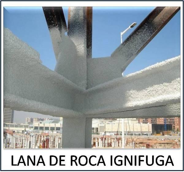 Foto lana de roca de ignifugaciones generales de castilla for Lana de roca ignifuga