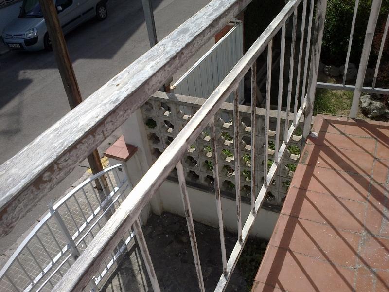 Foto  Limpieza con Radial Cepillo de Hierro Baranda afe7125742de