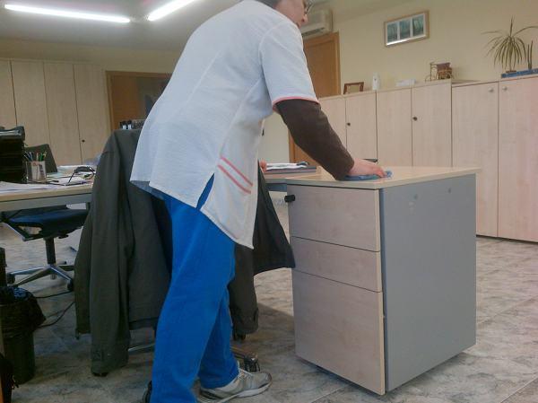 foto mantenimiento oficinas de neteges m s net riudoms