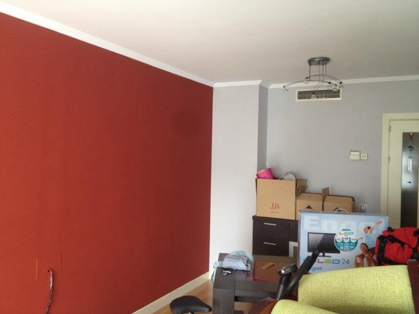 Foto Combinacion De Color Rojo Vino Y Gris Perla De álvarez Pintura En General 1353463 Habitissimo
