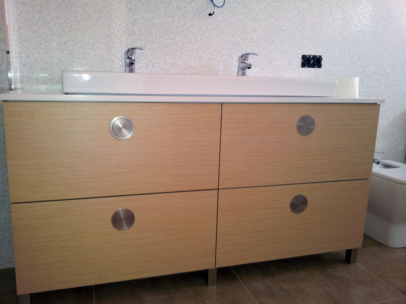 Foto mueble de ba o a medida de k2en lacumbre de la - Mueble bano a medida ...