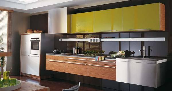 Foto mueble de cocina aluminio anonizado de encimeras for Muebles de cocina de aluminio