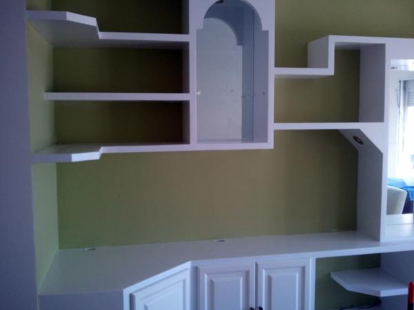 Foto mueble de escayola de e o m distribuci n y servicios - Muebles de escayola para el salon ...