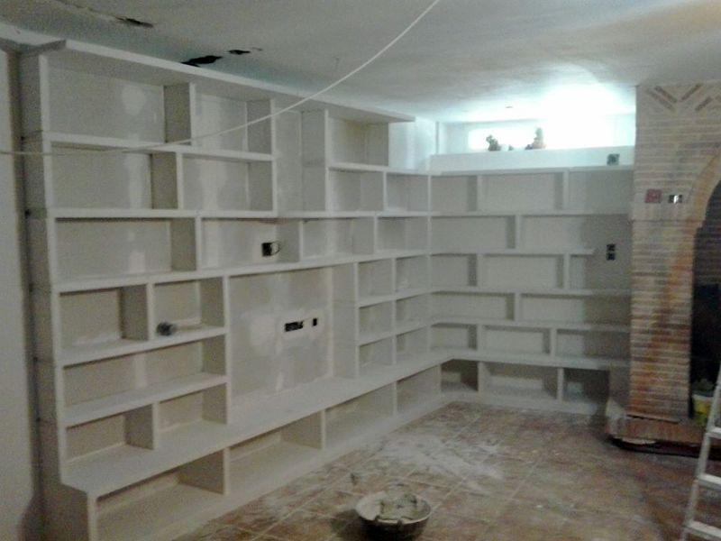 Foto mueble pladur de carpinteria orihuela 439175 for Muebles pladur