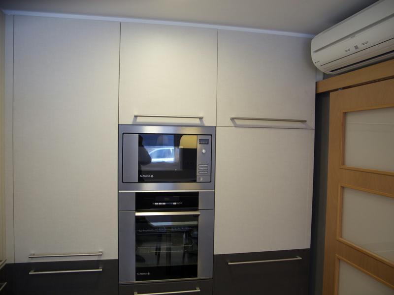 Foto muebles en columna de una cocina de pere le n - Muebles de cocina en leon ...