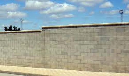 Foto muros de bloques de yoyocris edificaciones s l 350827 habitissimo - Bloques para muros ...