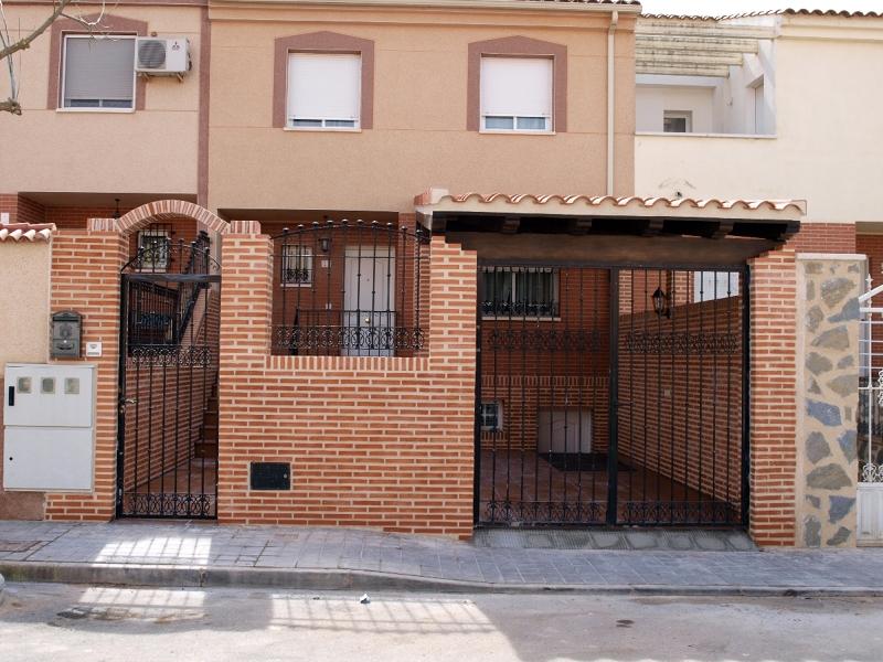 Foto obra ladrillo visto ciudad real de servicios - Casas ladrillo visto ...