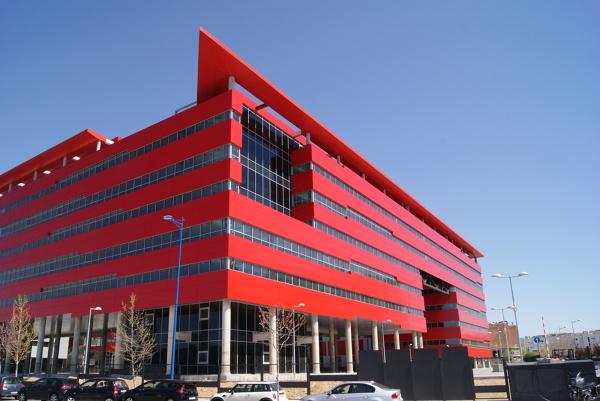 Foto oficinas midamarta rivas vaciamadrid de cubiertas y for Oficinas ss madrid