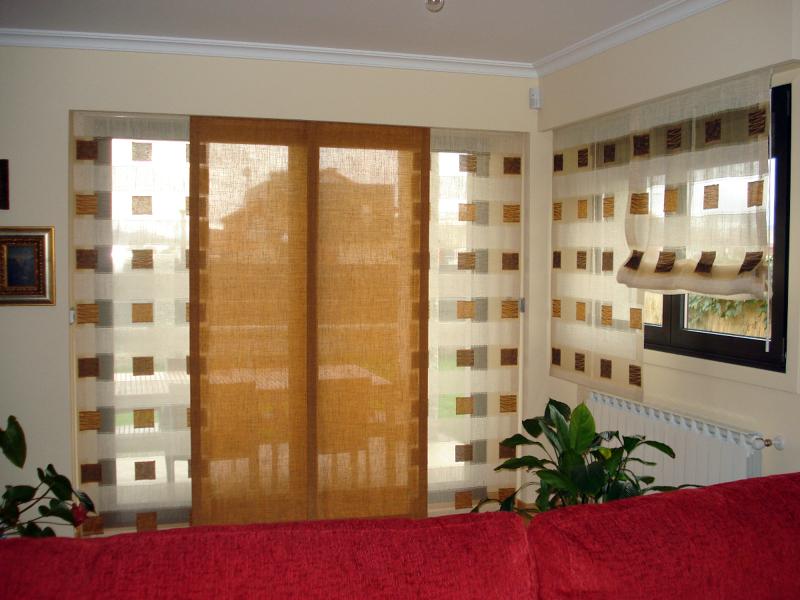 Foto panel japones de cortinas luis vizcaya 211369 - Panel japones infantil ...