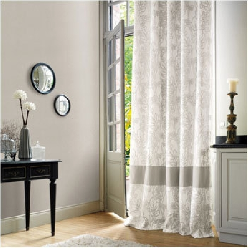 Foto papel pintado y cortina casadeco de el telar de for Papel pintado casadeco