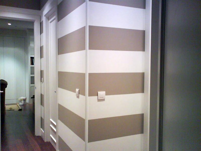 Foto pasillo de pintura decorativa alonso 149677 habitissimo - Pinturas para pasillos ...