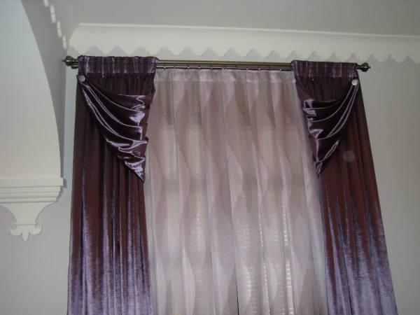 Foto patas de cortinas decorativas de decoraci n atoche for Cortinas decorativas