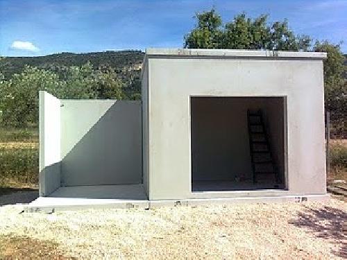 Foto peque as casetas de jordan y mora prefabricados for Casetas prefabricadas pequenas