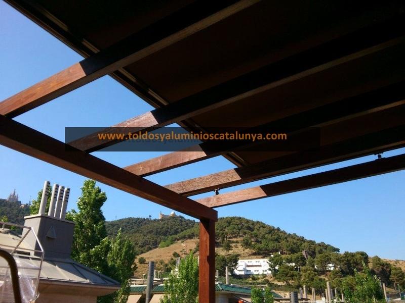 Foto p rgola de madera de toldos y aluminios catalunya 294016 habitissimo - Foto pergola ijzer smeden ...