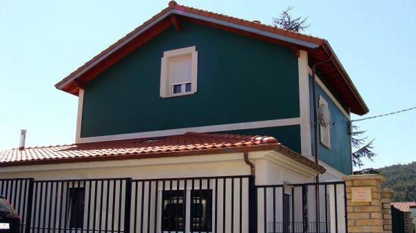 Foto pintado de fachada de taller de pintura decoastur 225694 habitissimo - Pintado de fachadas ...