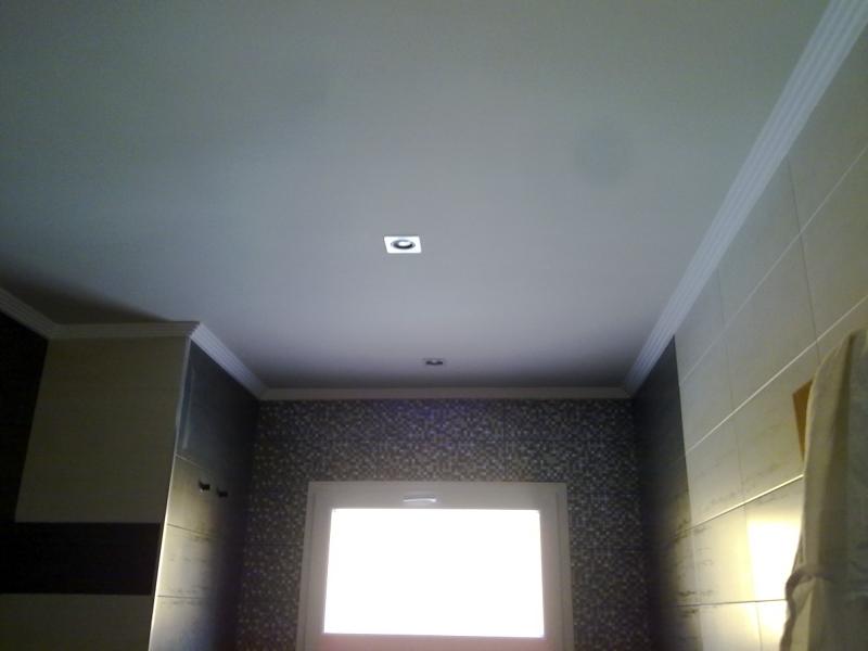 Foto pintura de techo y moldura de decoraciones 2010 s l - Molduras techo poliestireno ...