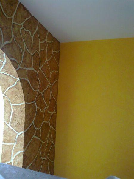 foto pintura efecto piedra de mas q pinturas 549409