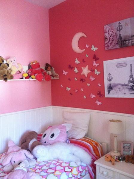 Foto pintura en dos colores habitaci n infantil de agl - Pinturas habitacion infantil ...