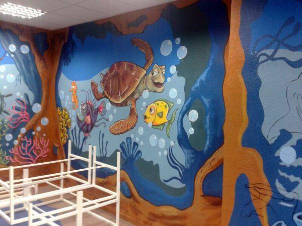 Foto Pintura Oleo En Paredes De Decokarlen 481864 Habitissimo - Pinturas-en-paredes