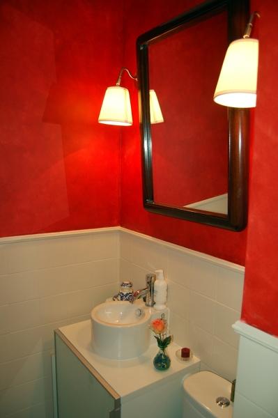 Foto pintura sobre azulejos de gamella y costet 286678 for Precio pintura azulejos bano