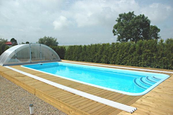 Foto cubierta piscina en las lomas de grupo oceanwave s l for Piscina cubierta alminares granada
