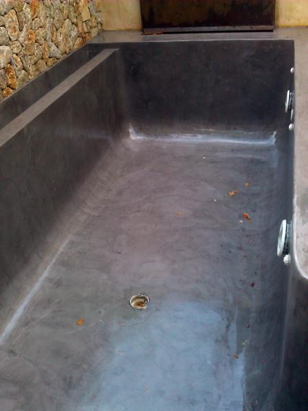 Foto piscina de microcemento de beny 171651 habitissimo for Color gris acero