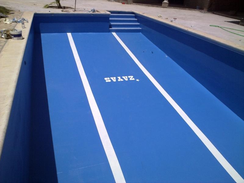 Foto piscina de palma de rio 16x8 de aplisur for Presupuesto construccion piscina