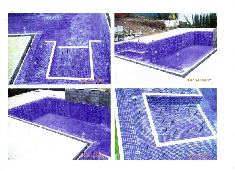 Foto piscina privada con jacuzzi incorporado en los for Piscinas con jacuzzi precio