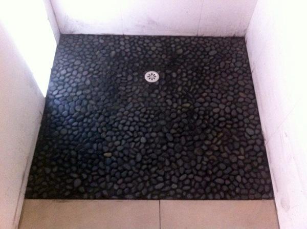 Foto plato de ducha de obra de mallorca service 302766 for Duchas modernas de obra