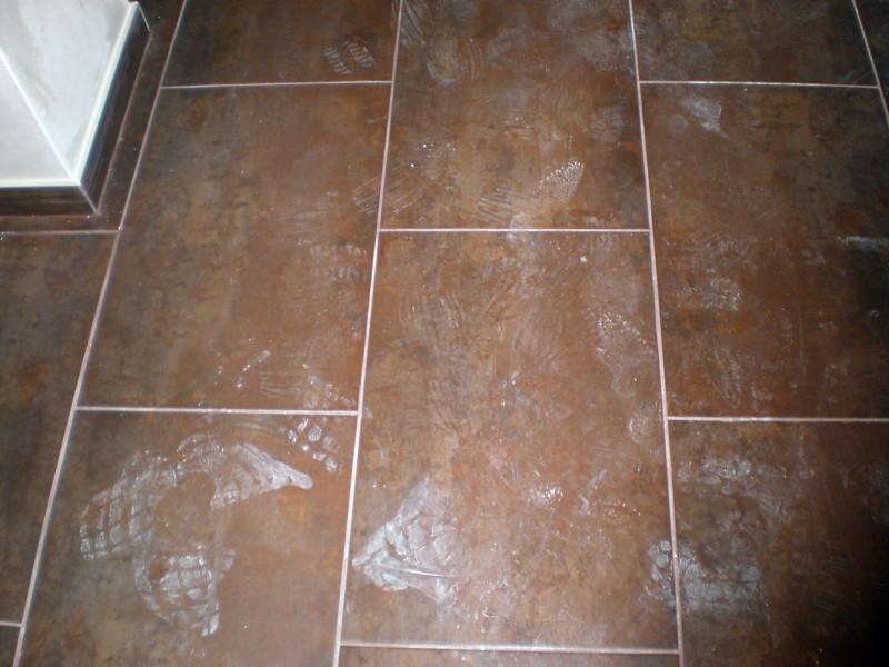 Foto porcelanico en suelo de cocina luanco de corema - Suelo de cocina ...