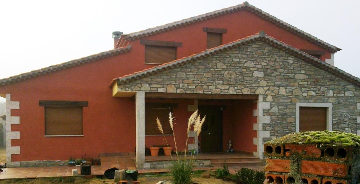 Foto porche casa aislada almeida de sayago de obras y - Porches de casas de campo ...