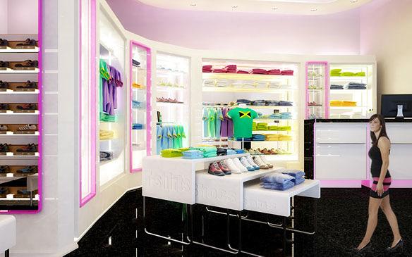 Foto proyecto reforma y propuesta de decoraci n para for Decoracion de almacenes de ropa